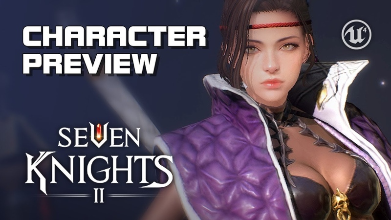 Seven Knights 2 - Character Preview - Android on PC - F2P - Mobile - KR