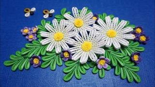 Quilling Daisy V3 Tutorial | cómo hacer el tutorial de flor de margarita