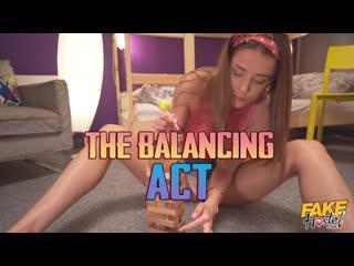 Lexi Dona, Sybil, Michaela Issizu - The Balancing Act [Lesbian]