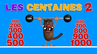 Foufou - Les Centaines pour les enfants (Learn the hundreds for kids) Serie 02 -4k