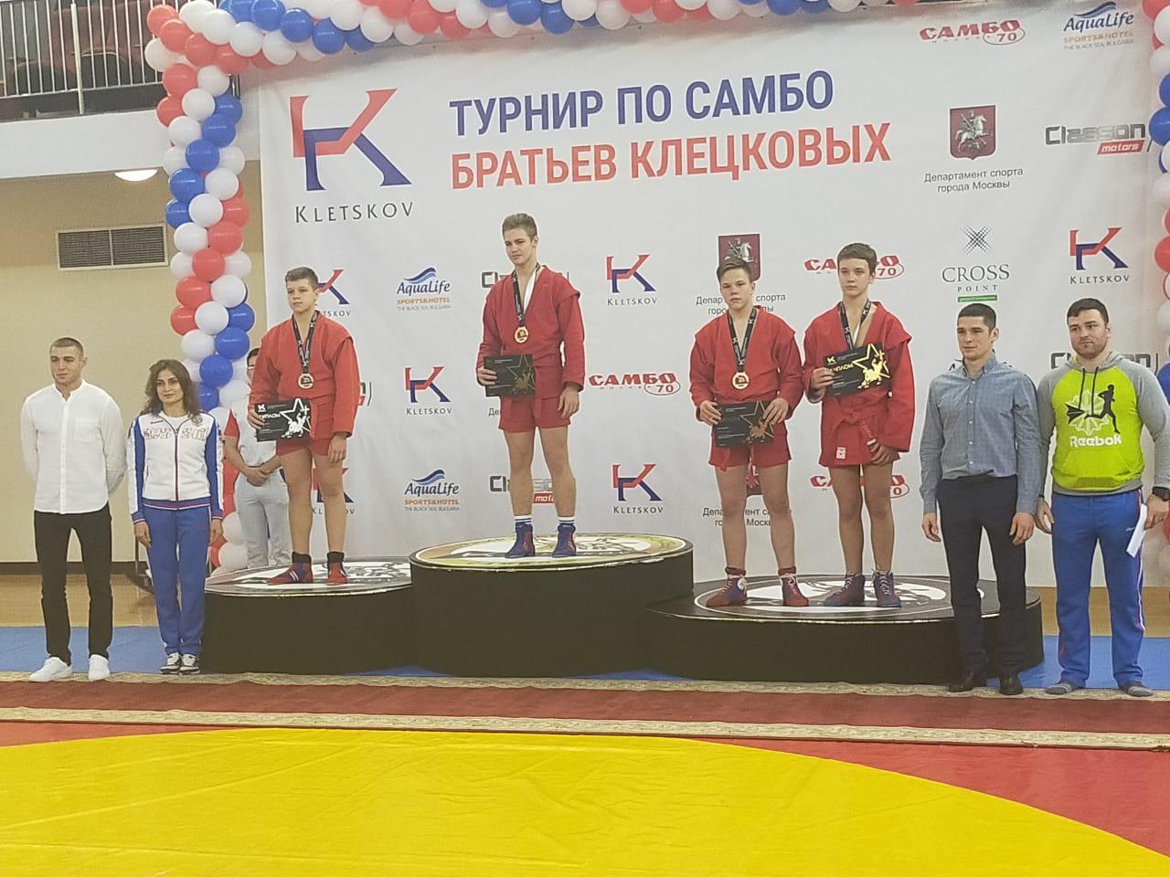 Воспитанник спортивной школы на 1-й Вольской взял бронзу турнира по самбо