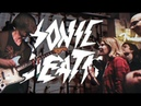 SONIC DEATH гиг в гитарном магазине Loud Lemon   Москва 06.04.19