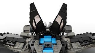 Конструктор LEGO DC Comics Super Heroes 76046 Поединок в небе