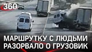 Маршрутка впечаталась в грузовик: семь пострадавших в Ростовской области