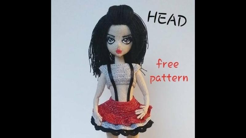 Realistic doll head pattern kafa tarifi amigurumi