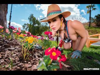 RealityKings Valentina Nappi - Gardening Hoe 2019, Teen, Brunette, Big Tits, Big Ass, Blowjob, Hardcore, All Sex, 1080p HD