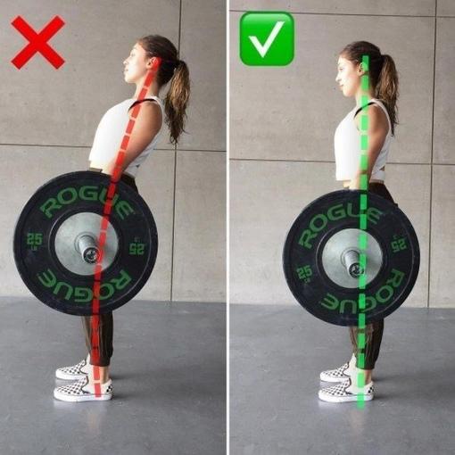 Выпoлняй упражнения правильнo