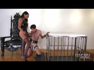 [femdomempire.com] bethany benz - russian hole stretcher (29.03.2019) [2019, femdom, strapon, pegging, anal, stockings, 1080p]