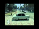 Подписчик на ВАЗ 2106 наваливает в Grand Theft Auto IV San Andreas, для Автоклуба Жигулек