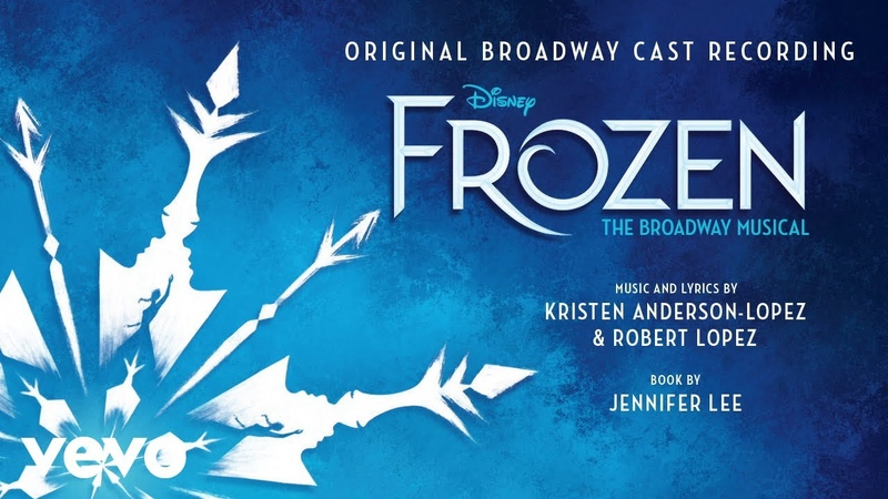 Jelani Alladin Kristoff Lullaby From Frozen The Broadway Musical Audio Only