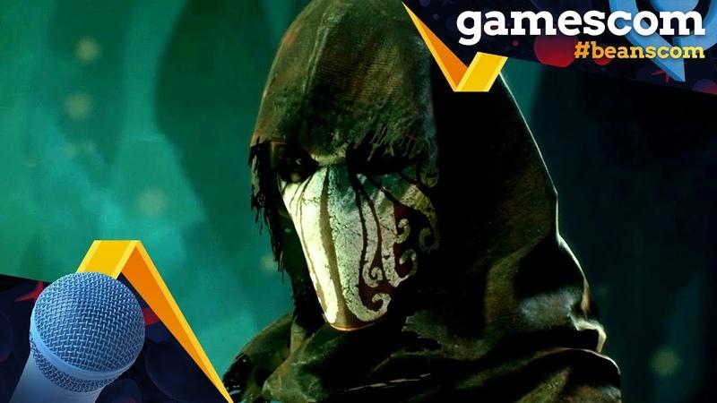 Gamescom 2018 | Call of Cthulhu - Interview mit Roman Wiart (Lead Level Designer bei Cyanide)