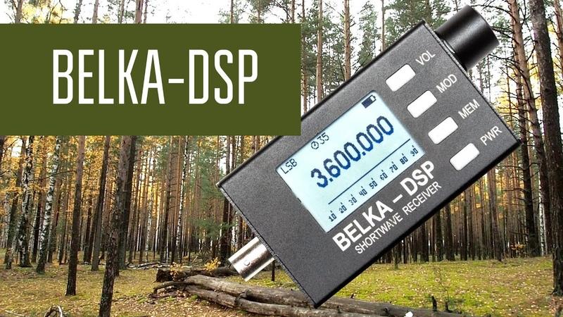Belka DSP и большая антенна Работа приёмника с полноразмерными антеннами и сравнение с трансивером