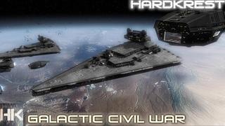 Star Wars: Empire at War Galactic Civil War Remake - Hard - Empire =1= Галактическая война
