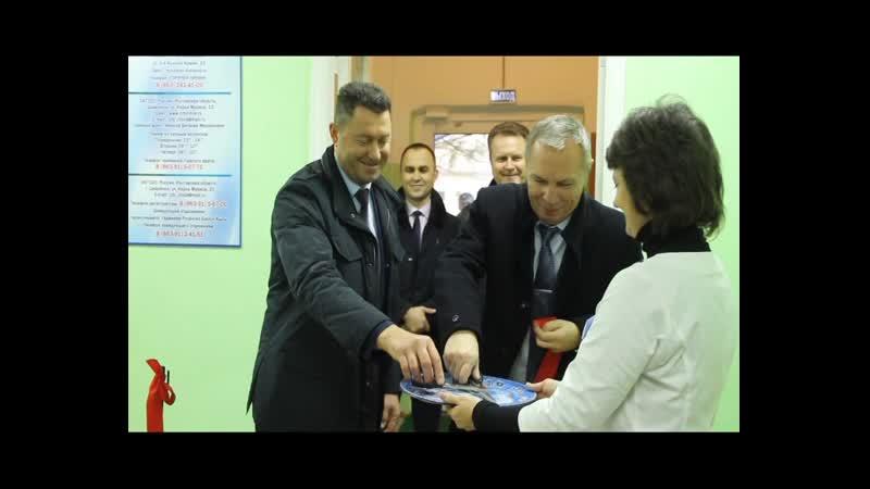 Открытие бережливой поликлиники в Цимлянске