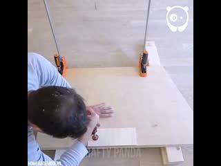 Как сделать винтовую лестницу из фанеры