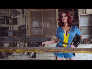 Fallout 4 In Real Life - Angie Griffin Fallout Cosplay Showcase - Screen Team