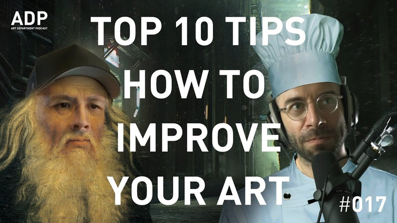 Top 10 tips on how to improve your art Art Department Podcast 017
