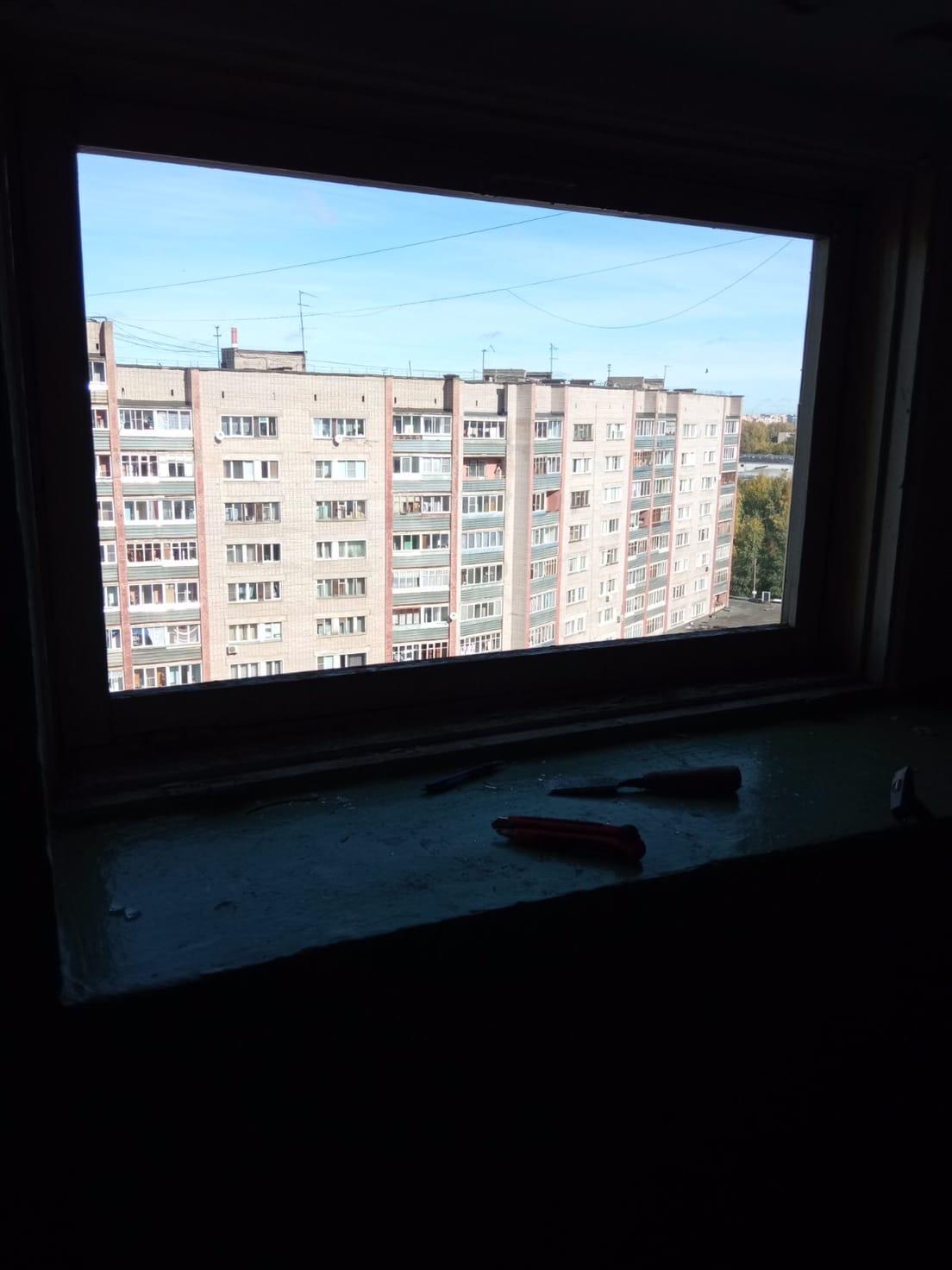 Улица Кольцова дом 22 остекление 3 Подьезд