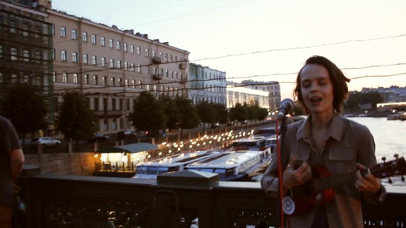 Randomway Питер Аничков мост Белые ночи