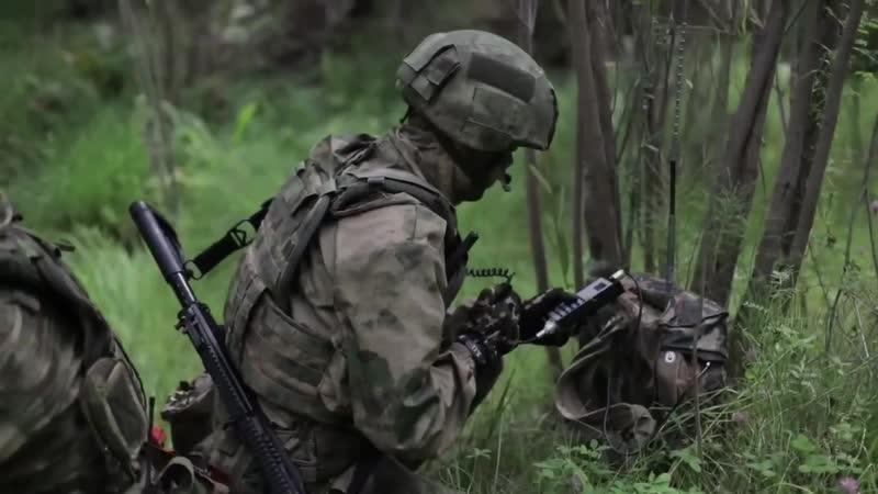Военнослужащие развед. подразделения 14-й ОБрСпН ГУ, Бурятия, сентябрь