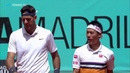 Del Potro Nishikori v Fognini Lindstedt Great Points Winning Moment Madrid 2019