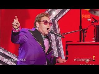 The Oscars 2020 | Elton John performs Rocketman's 'I'm Gonna Love Me Again' Live | FOX