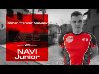 Rommi Ace vs NAVI Junior | de_mirage | Blast Premier Spring Showdown Open Quali