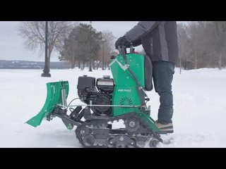 An Overview of our Zero-Turn Snow Plow