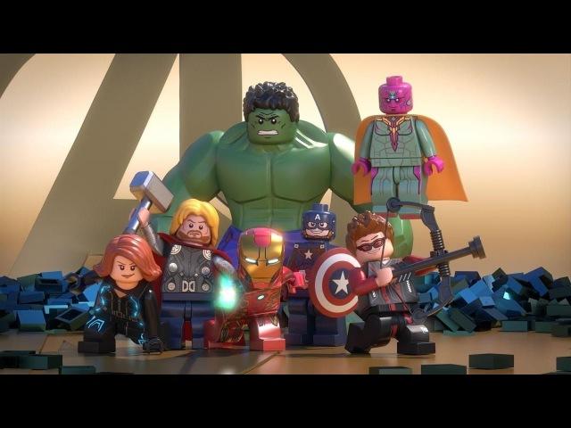 LEGO Marvel Avengers Reassembled Мстители общий сбор часть 1