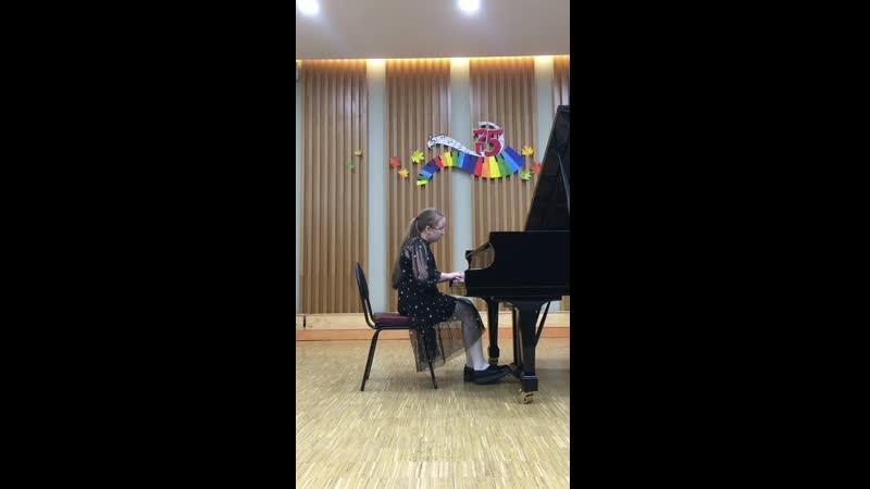 Андреева Екатерина Вальс Табакерка А Даргомыжский