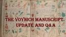 Voynich Manuscript: Update and QA