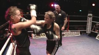 Brutal Women's Boxing Fight! - Emma Kennedy v Jurate Jay