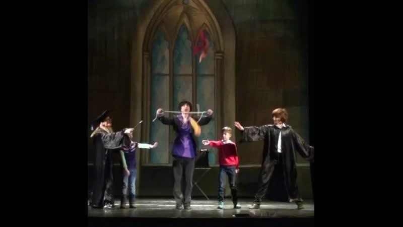 Школа волшебства Гарри Поттера Иллюзионный шоу спектакль Московского Театра Чудес волшебника Рафаэля