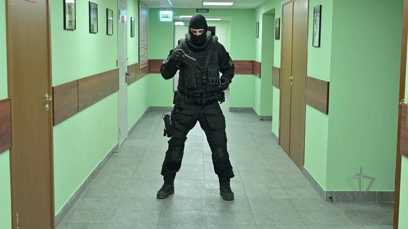 Всем привет от московского СОБР Росгвардии и хороших Вам выходных