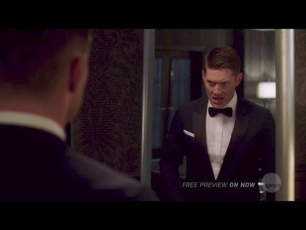 Михаил разговаривает с Дином Джек пытается вернуть благодать Сверхъестественное 14 сезон 2 серия
