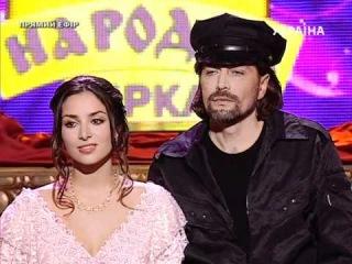 Злата Огневич и Асан Билялов - Обычная история (HD)