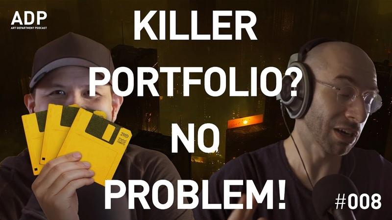 How to build a portfolio Art Department Podcast 008