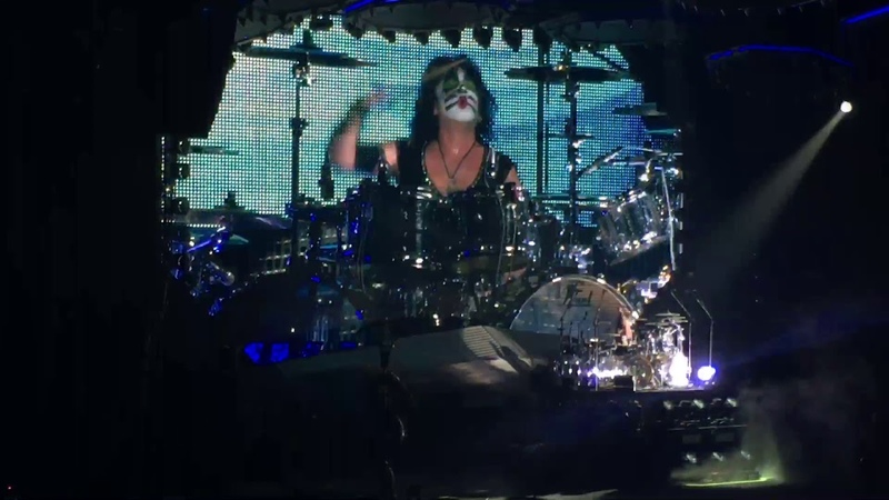 Eric Singer Drum Solo 100 00years KISS End of the Road Tour Sendai Japan Live December 8 2019