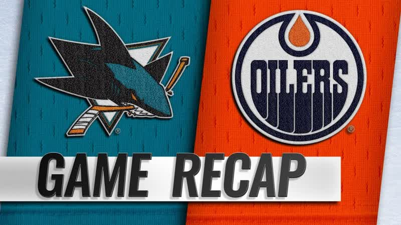 НХЛ - регулярный чемпионат. «Эдмонтон Ойлерз» - «Сан-Хосе Шаркс» - 2:3 (1:2, 1:1, 0:0)