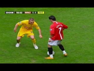 Man Utd Ronaldo Had No Mercy For Defenders