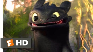 How to Train Your Dragon - Making Friends With A Dragon Scene   Fandango Family