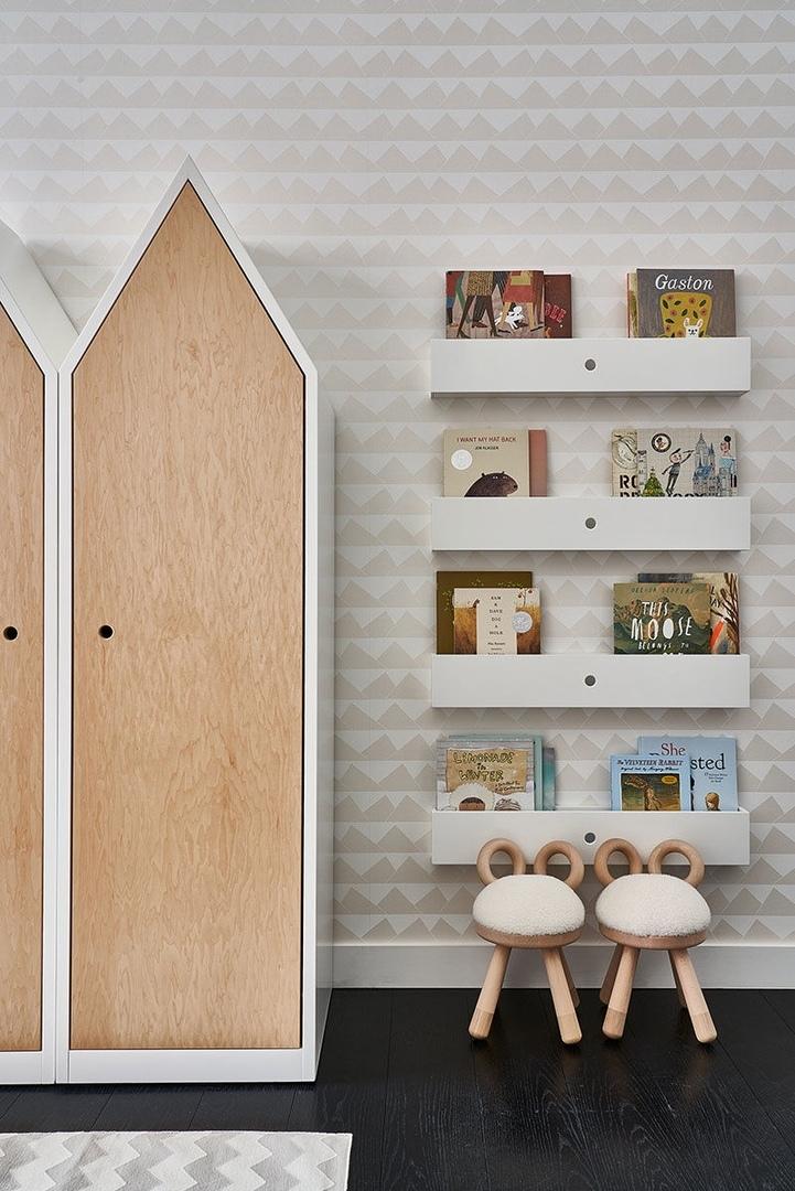 Как оформляют детские комнаты в современных квартирах Нью-Йорка || 01