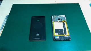 HUAWEi P9 lite - замена дисплея полная разборка / replacement of the display complete disassembly