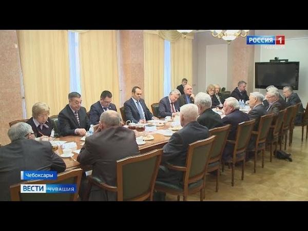 В Чебоксарах прошла встреча Главы республики с членами Совета старейшин