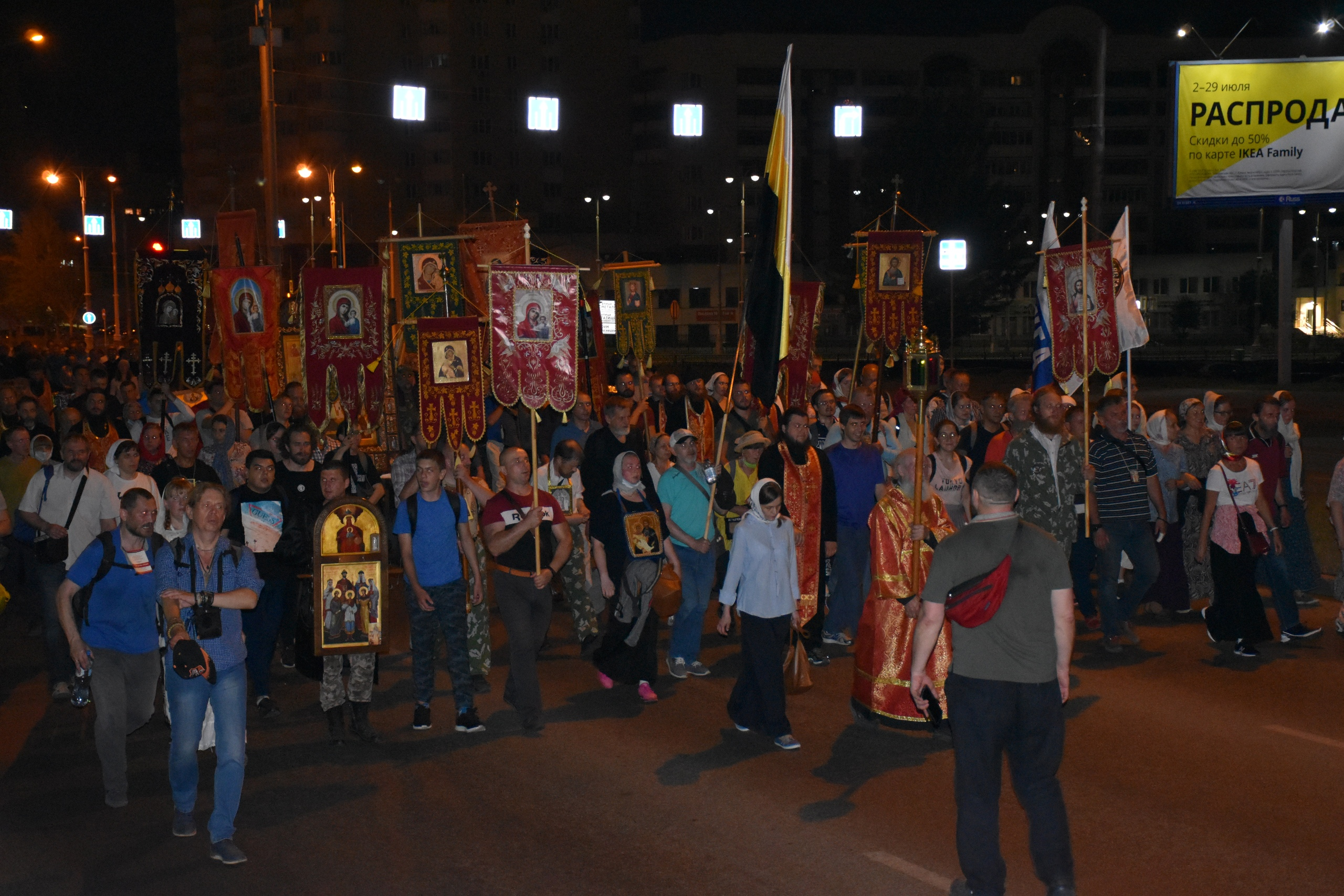 Казаки Оренбургского казачьего войска несли службу в период проведения Царских дней в Екатеринбурге