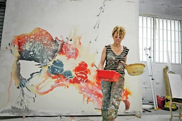 Авторская керамика молодой французской художницы Марлен Моке.