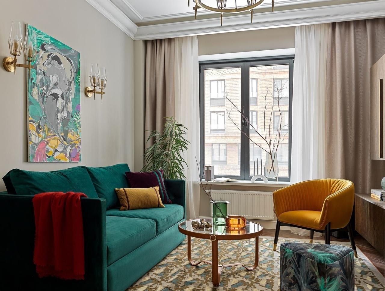 Счастливы вместе: квартира для трёх поколений от Натальи Завьяловой