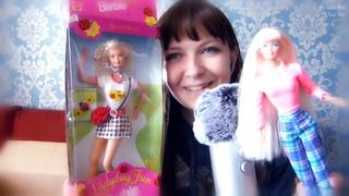 ASMR АСМР Распаковка посылки из Америки🎁4 куклы Барби 90-х, шепот и Blue Yeti