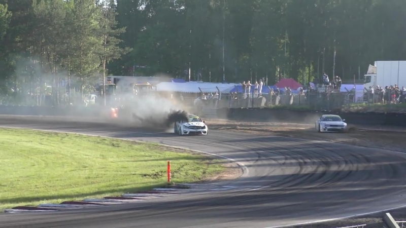 Black Smoke Racing on Gatebil Mantorp 2017