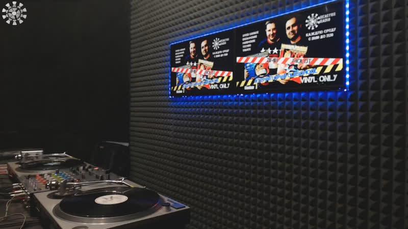 [Vinyl Day] Zimin b2b Molot   DJ PR-ICE b2b M.DOG
